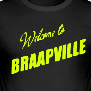 braapville - Slim Fit T-shirt herr