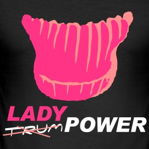 Ladypower - Slim Fit T-skjorte for menn