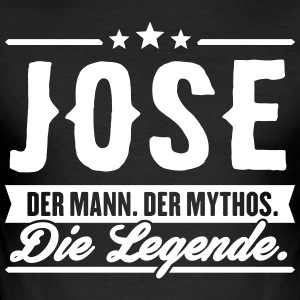 Mann Mythos Legende Jose - Männer Slim Fit T-Shirt