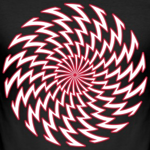 spiralen 23 - Slim Fit T-shirt herr
