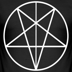 666 - Slim Fit T-shirt herr