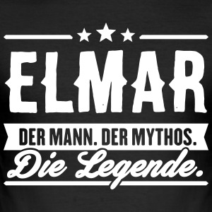 Mann Mythos Legende Elmar - Männer Slim Fit T-Shirt