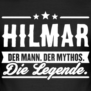 Man Myth Legend Hilmar - Slim Fit T-shirt herr