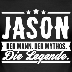 Man Myth Legend Jason - Men's Slim Fit T-Shirt