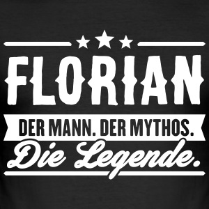 Man Myte Legend Florian - Herre Slim Fit T-Shirt