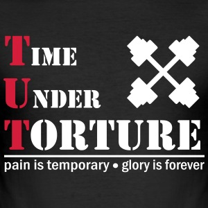 time under torture - Männer Slim Fit T-Shirt