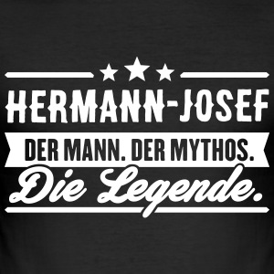 Man Myth Legend Hermann-Josef - Men's Slim Fit T-Shirt