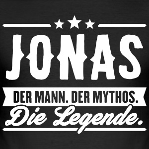 Mann Mythos Legende Jonas - Männer Slim Fit T-Shirt