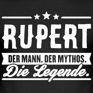 Man Myth Legend Rupert - Men's Slim Fit T-Shirt