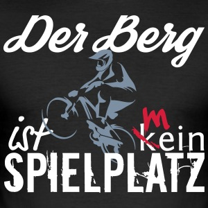 De berg is mijn speeltuin - slim fit T-shirt
