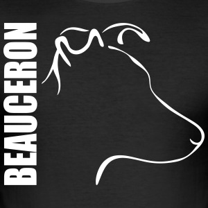 Beauceron PROFIL - Slim Fit T-skjorte for menn