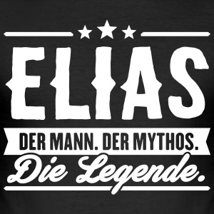 Mann Mythos Legende Elias - Männer Slim Fit T-Shirt