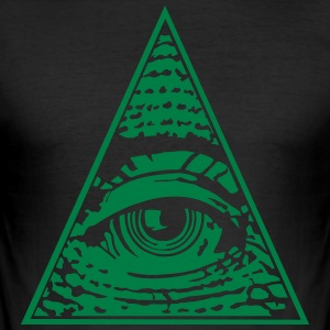 Eye of Providence - Men's Slim Fit T-Shirt