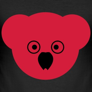 KOALA red - Men's Slim Fit T-Shirt