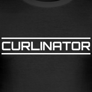 Curlinator - Herre Slim Fit T-Shirt