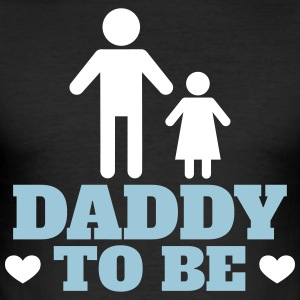 daddy to be - Männer Slim Fit T-Shirt
