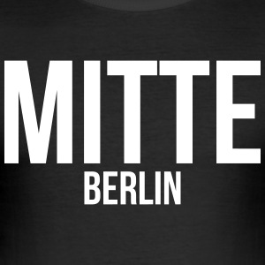 BERLIN CENTER - Tee shirt près du corps Homme