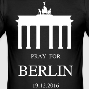 BERLIN mourns - Men's Slim Fit T-Shirt