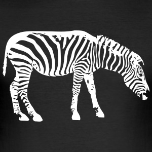 Zebra - Männer Slim Fit T-Shirt