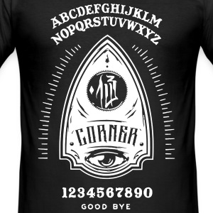 OUIJA PLANCHET - Men's Slim Fit T-Shirt