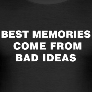 Bad Ideas - Tee shirt près du corps Homme