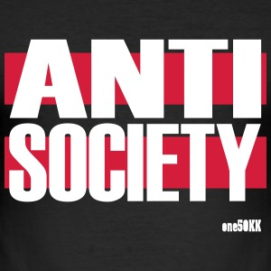anti Society - Slim Fit T-skjorte for menn