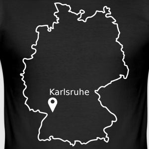Karlsruhe - Men's Slim Fit T-Shirt
