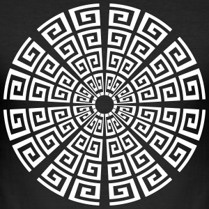 23 spiral cycle - Men's Slim Fit T-Shirt