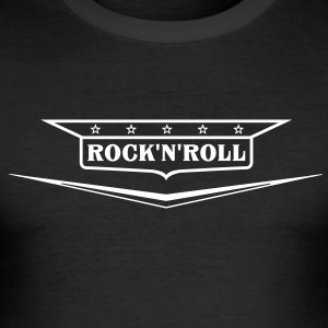 Rock and roll skjorte - Herre Slim Fit T-Shirt