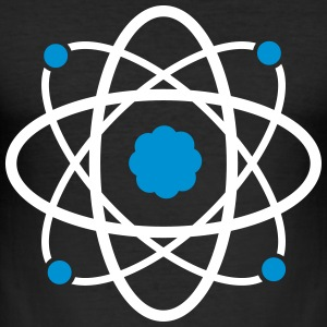Atom Molekul Science - Männer Slim Fit T-Shirt