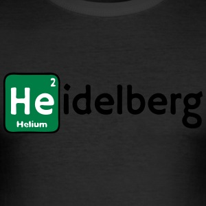 Heidelberg - Slim Fit T-skjorte for menn
