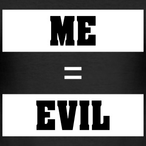 ME EVIL - Herre Slim Fit T-Shirt