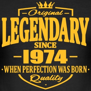 Legendary siden 1974 - Herre Slim Fit T-Shirt