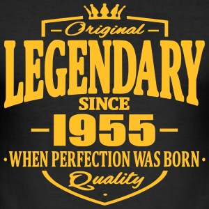 Legendary sedan 1955 - Slim Fit T-shirt herr