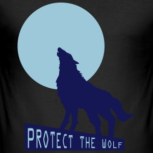 Wolf wolf - Men's Slim Fit T-Shirt
