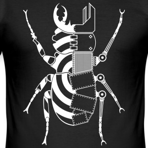 Tekno 23 Cyborg Bug - Männer Slim Fit T-Shirt