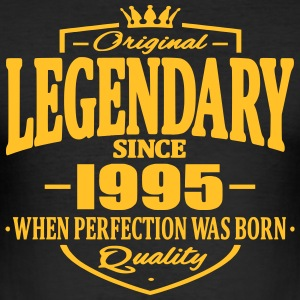 Legendary siden 1995 - Herre Slim Fit T-Shirt