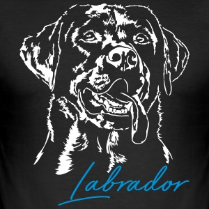 LABRADOR RETRIEVER 2 - Men's Slim Fit T-Shirt