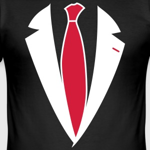 Tie en smoking - slim fit T-shirt