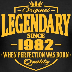Legendary sedan 1982 - Slim Fit T-shirt herr
