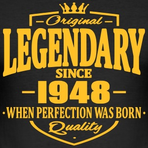 Legendary sedan 1948 - Slim Fit T-shirt herr