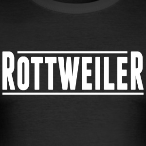 rottweiler - Men's Slim Fit T-Shirt