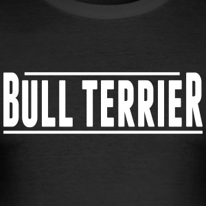 Bull Terrier - Slim Fit T-shirt herr