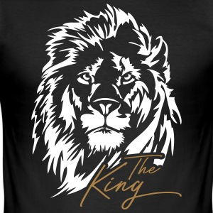 The Lion - The King - Slim Fit T-shirt herr