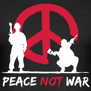 Peace was not - Men's Slim Fit T-Shirt
