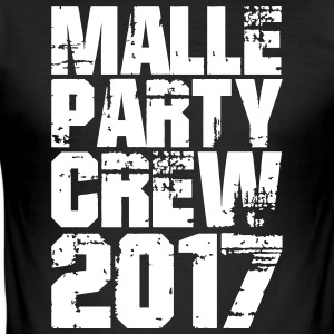 Party! Mallorca! Malle! Spring Break! - Slim Fit T-skjorte for menn