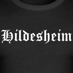 Hildesheim - Männer Slim Fit T-Shirt