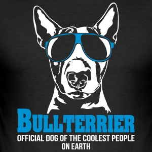 BULLTERRIER coolest people - Men's Slim Fit T-Shirt
