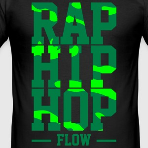 Rappar Flow - Slim Fit T-shirt herr