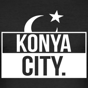 Konya City - Männer Slim Fit T-Shirt